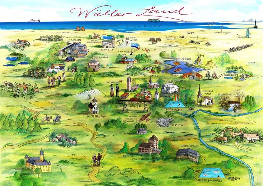 Illustration - Wäller Land