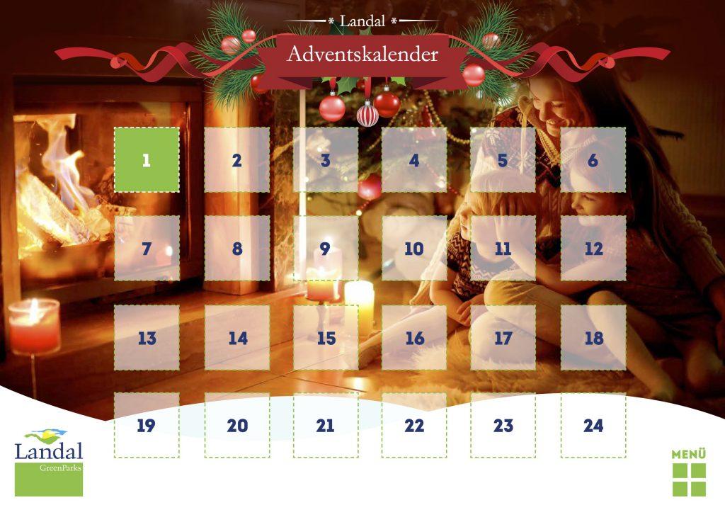 Online Adventskalender - Landal GreenParks - 2015