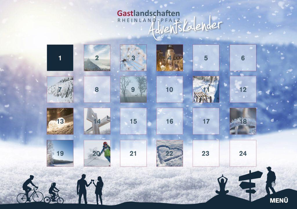 Online Adventskalender - Rheinland-Pfalz Tourismus - 2016 & 2017