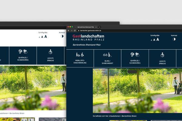 Konstrastwechsel - Barrierefreie Webseite im Tourismus