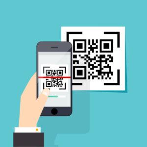 Corona Melde App - QR Code scannen