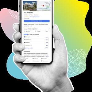Google Hotel Ads bei shapefruit buchen